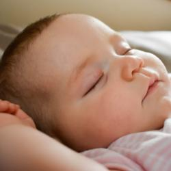 Close up Picture of Baby Sleeping